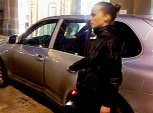 A. Loginova, beautiful bodyguard
