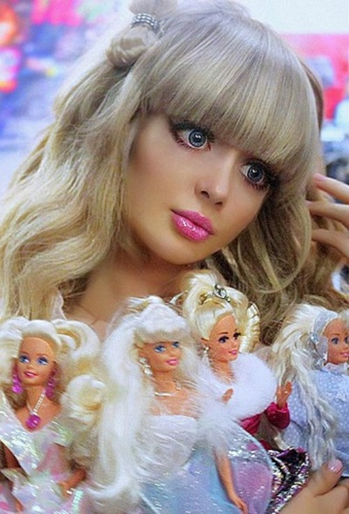A. Kenova - Russian Barbie girl from Moscow