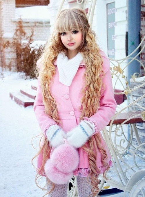 Barbie girl from Moscow