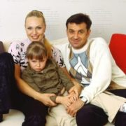 Dmitry Liuty, Alla Dovlatova and their daughter