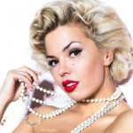 karina zvereva as Marilyn Monroe