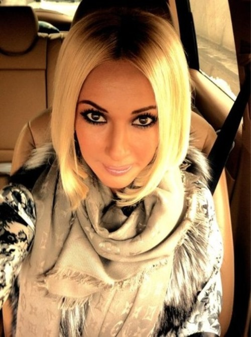 L. Kudryavtseva - Russian TV presenter, actress, singer and dancer