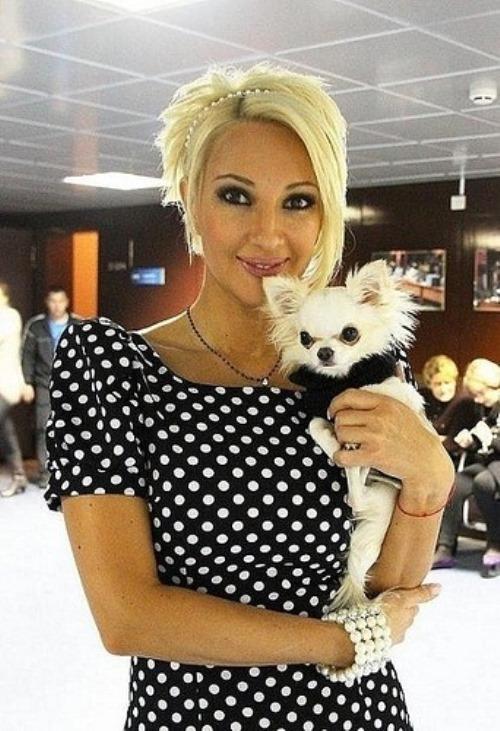 L. Kudryavtseva - Russian TV presenter, actress, singer and dancer