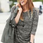 Beautiful international model Maria Novoselova