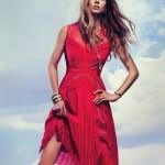 Amazing international model Maria Novoselova