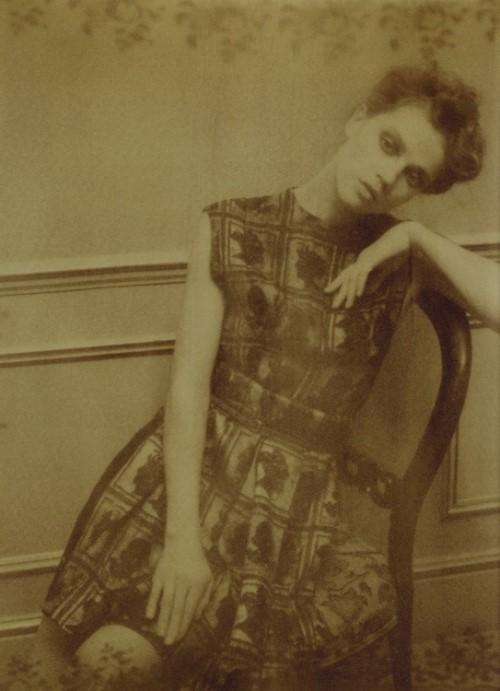 Maria Novoselova - international fashion top model