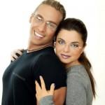 Koroleva and her second husband Sergey Glushko - Tarzan