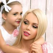 Sambuka and her little daughter