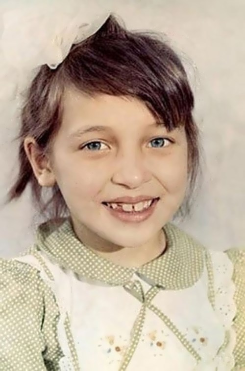 Alsou in her childhood