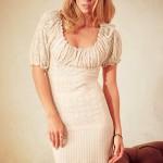 Lovely international top model Maria Novoselova
