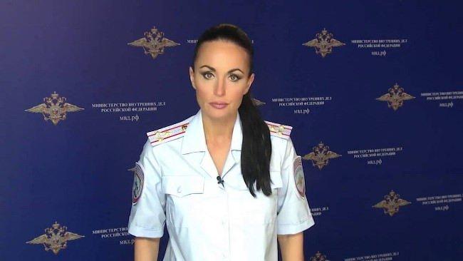 Amazing police woman Volk Irina