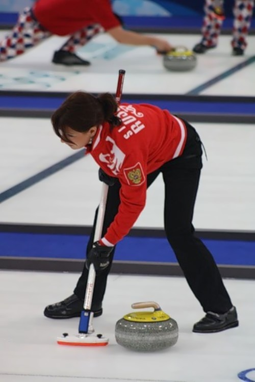 Anna Sidorova curling player