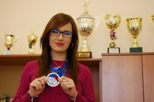 Anna Sidorova beautiful athlete