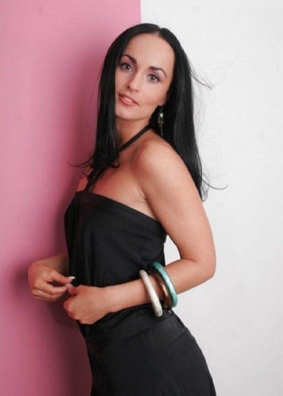 Attractive police woman Volk Irina