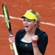 Attractive tennis player Kirilenko Maria