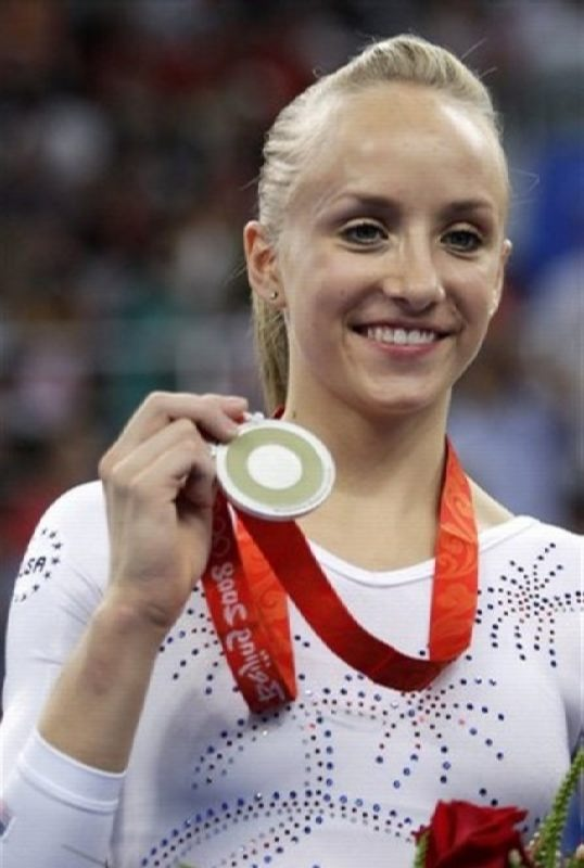 Awesome gymnast Anastasia Liukin