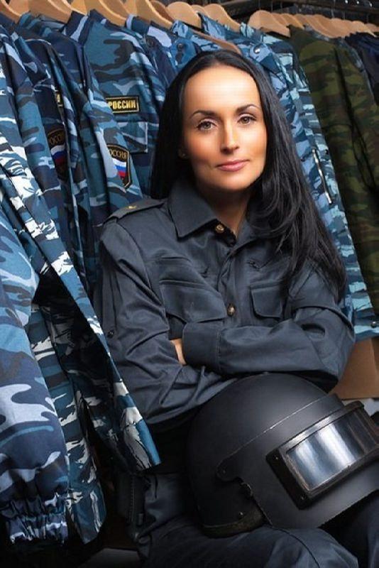 Awesome police woman Volk Irina