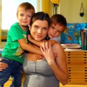 Azarova and her children