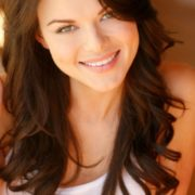 Beautiful actress and model Anna Monzikova