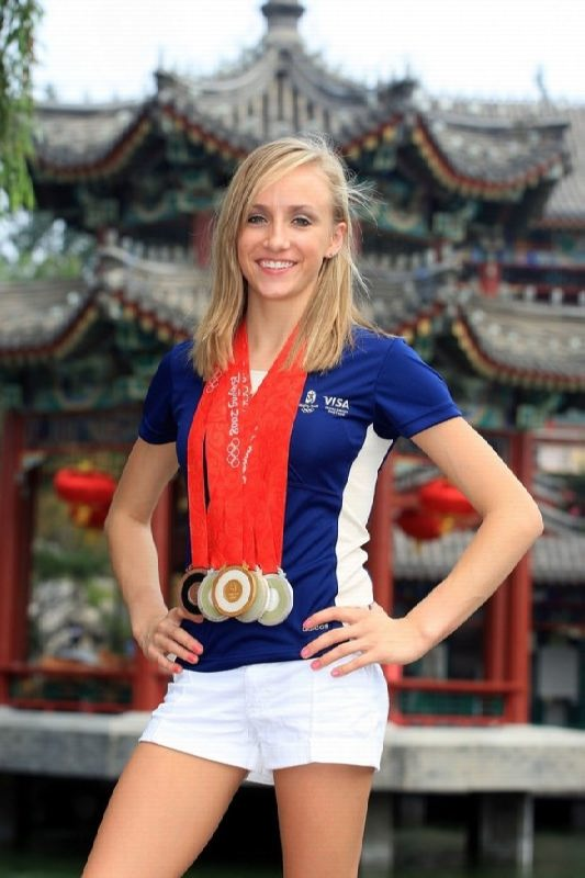 Beautiful gymnast Anastasia Liukin