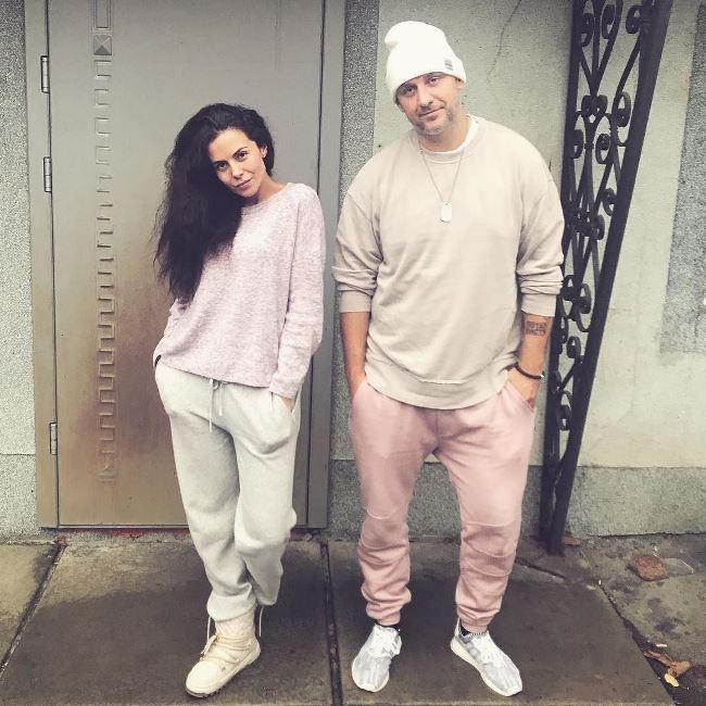 Beautiful singer Nastya Kamenskikh and Potap