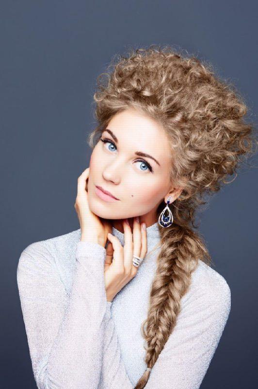 Bright actress Christina Asmus