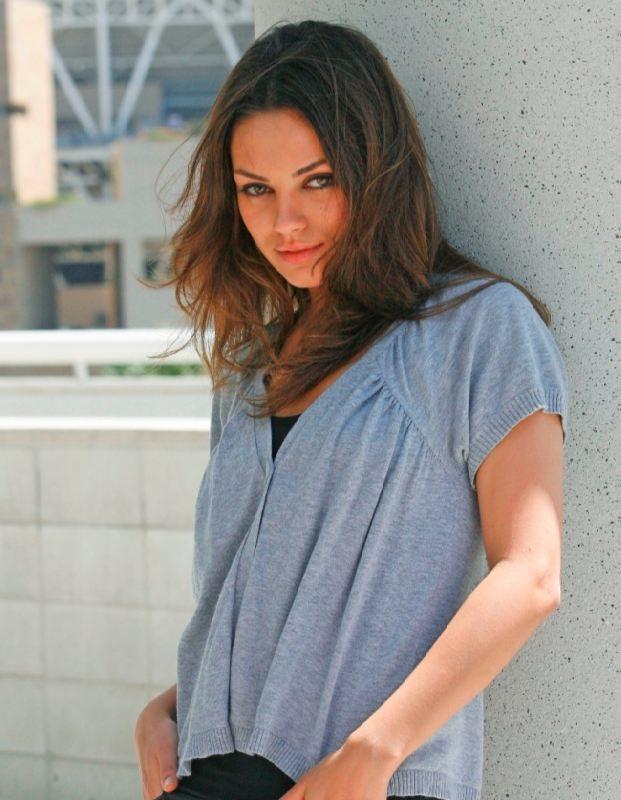 Bright actress Kunis Mila