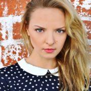 Bright actress Orlova Marina