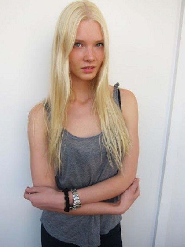 Bright model Dasha Zhemkova