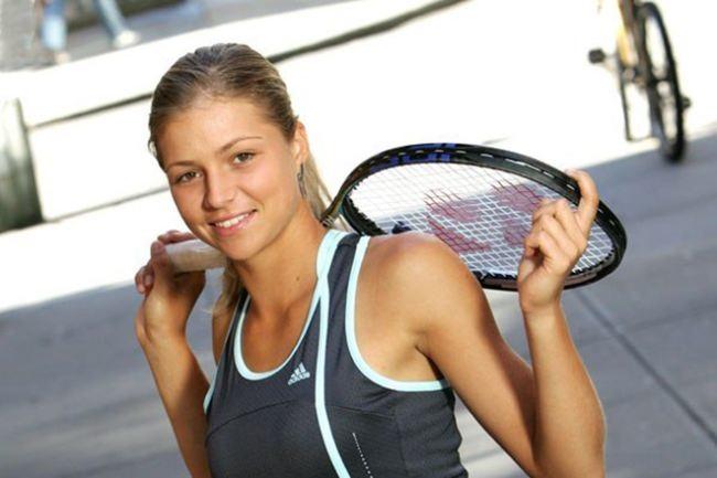 Brilliant tennis player Kirilenko Maria