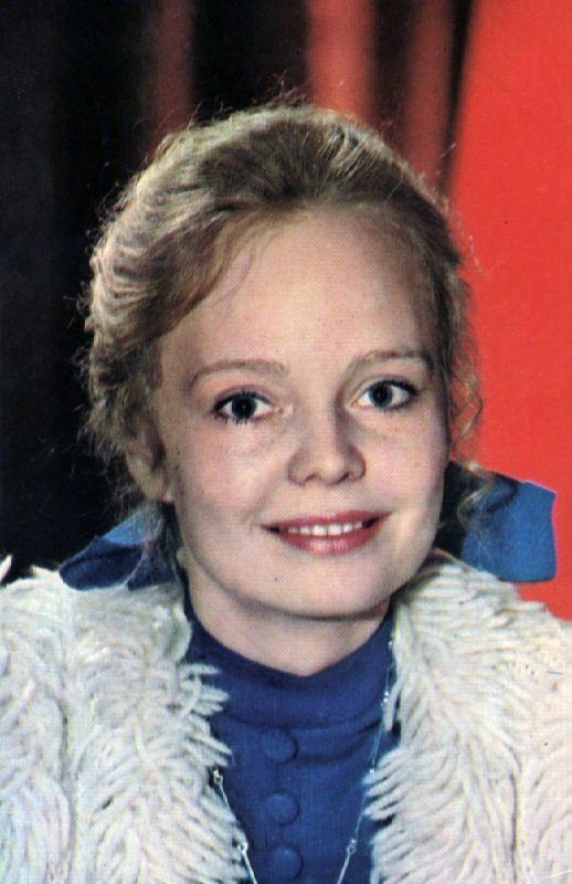 Charming actress Natalia Belokhvostikova