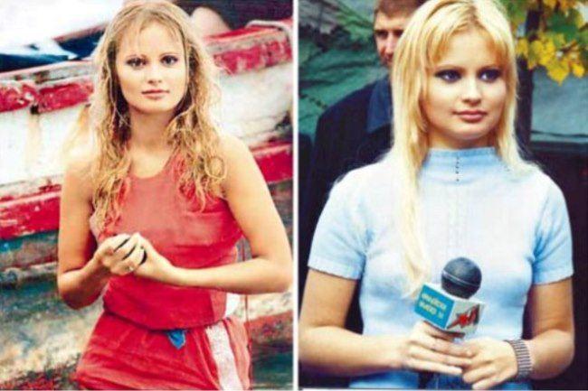Cute Dana Borisova in her youth