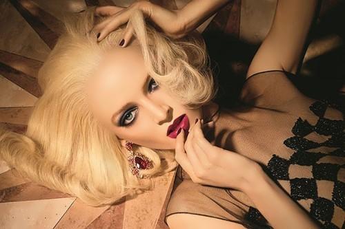 Daria Strokous, popular model