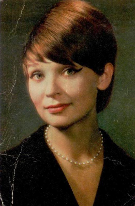 Fabulous actress Svetlichnaya Svetlana