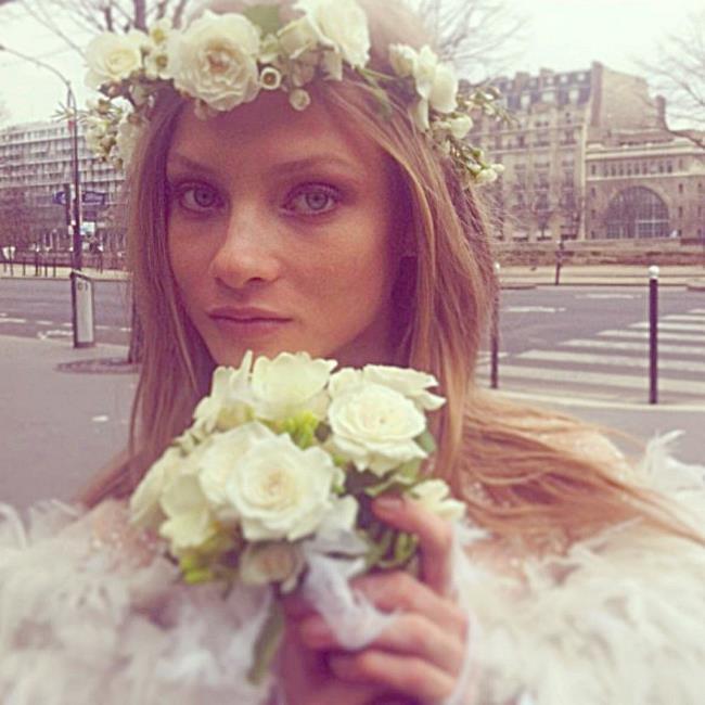 Famous model Anya Selezneva