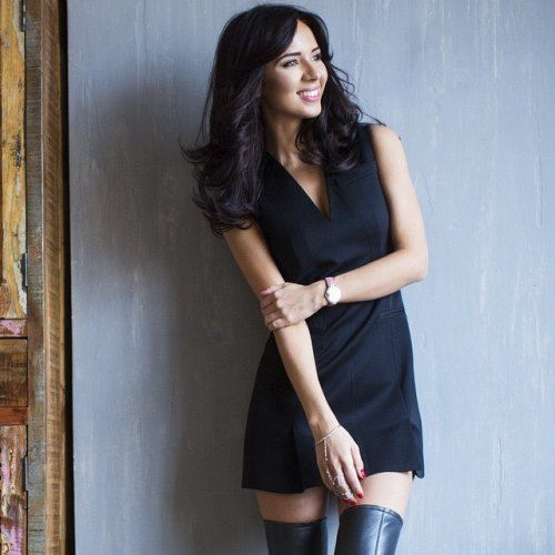 Fashionable Alexandra Pavlova
