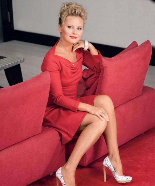 Fashionable TV presenter Borisova Dana