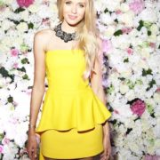 Fashionable Xenia Sukhinova