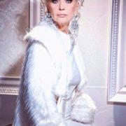Fashionable actress Svetlichnaya Svetlana