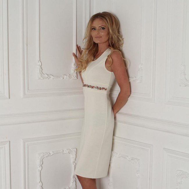 Graceful TV presenter Borisova Dana