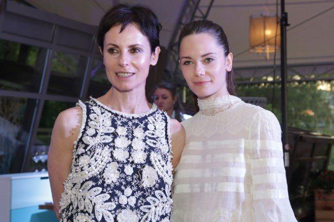 Irina Apeksimova with her daughter