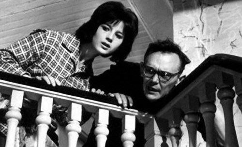 Leonid Gayday and Natalia Varley