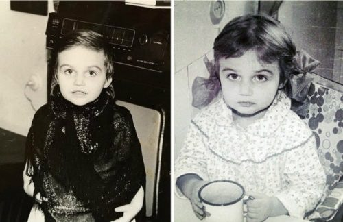 Little Alena Vodonaeva