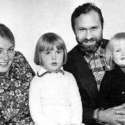 Little Masha Shukshina and her parents