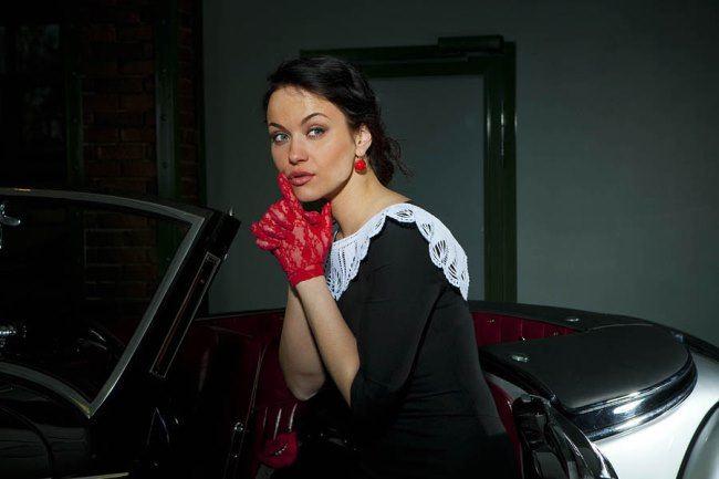 Lovely actress Maria Berseneva
