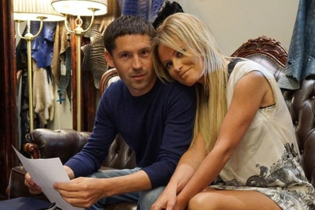 Lovely couple - Andrey Troshchenko and Dana Borisova