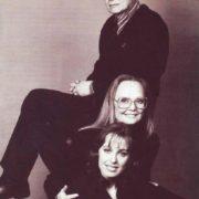 Loving family. Belokhvostikova with her husband and daughter