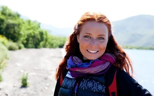 Masha Morgun - beautiful TV presenter