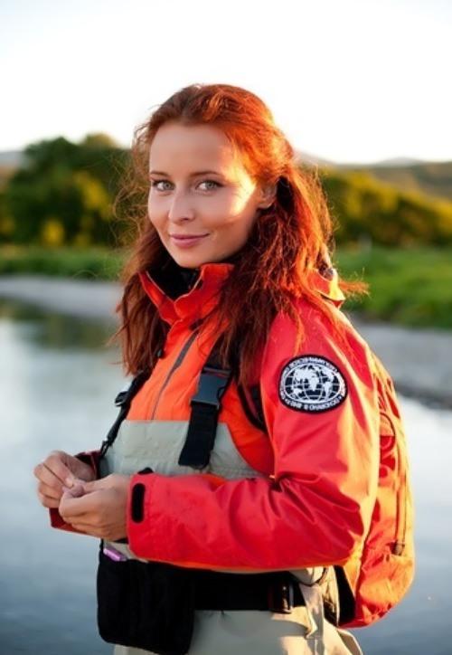Masha Morgun - beautiful reporter