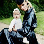 Natasha Poly and her daughter